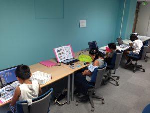 プログラミング体験教室の様子