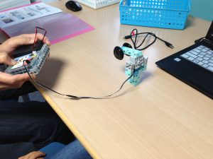 Studuino でロボット制御