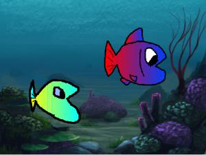 Scratchで作った水族館3