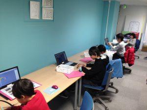 2018年2月10日プログラミング体験教室の様子