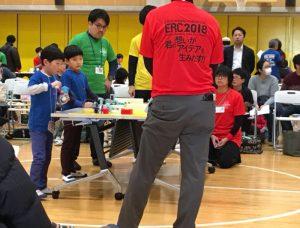 ERC2018ブロック運び競技 チーム『なっし~ブラザーズ』