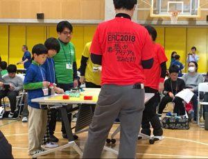 ERC2018ブロック運び競技 チーム『シャインスカイ』