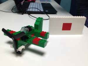 レゴでつくったゼロ戦