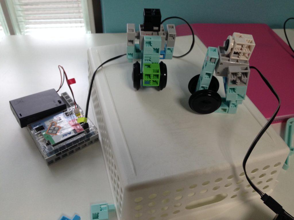 ロボットプログラミング体験教室